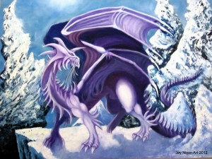 King Sarak lords over the Ice Dragons!