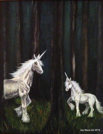 Unicorn Forest web